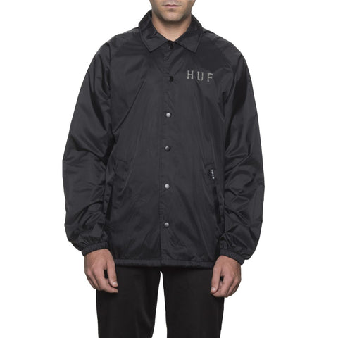 HUF - Classic H - Coaches Jacket /Noir