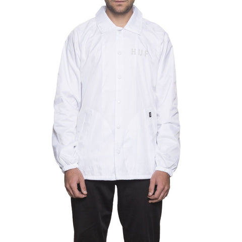 HUF - Classic H - Coaches Jacket /Blanc