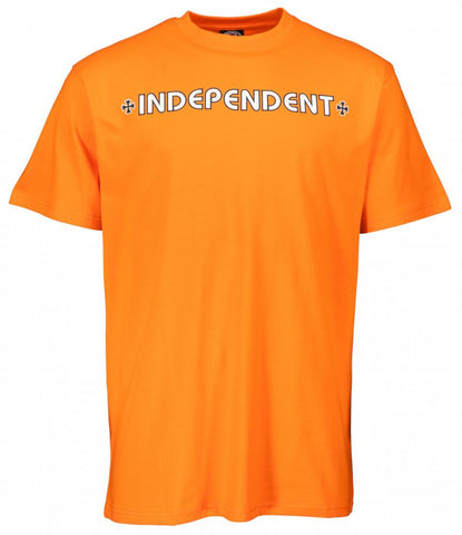 INDEPENDENT - Bar Cross - Tshirt /Orange