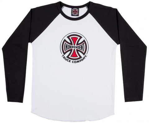 INDEPENDENT - Truck Co. - Baseball Tee - Kids /White
