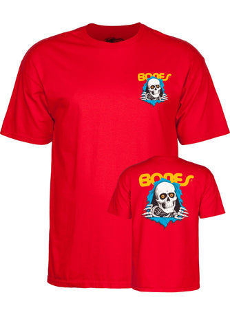 POWELL PERALTA - Ripper - Tshirt /Rouge