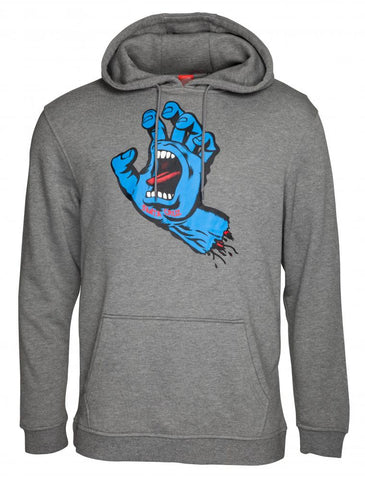 SANTA CRUZ - Screaming Hand - Hoodie /Gris Chiné