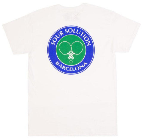 SOUR - Social Club Tee - Tshirt /White