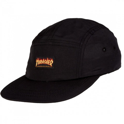 THRASHER - Flame - Five Panel - Casquette /Noir