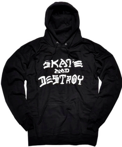 THRASHER - Skate & Destroy Hoodie - Sweat Capuche /Black