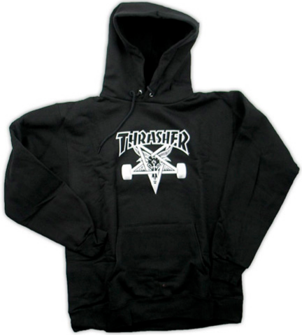 THRASHER - Skate Goat Hoodie - Sweat Capuche /Black