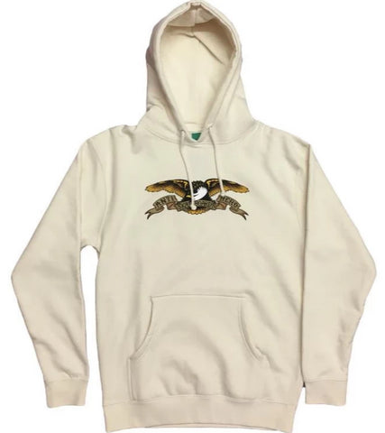 ANTIHERO - Eagle Hoodie - Sweat Capuche /Bone