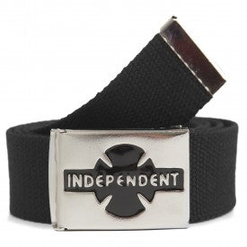 INDEPENDENT - Clipped Belt - Ceinture /Black