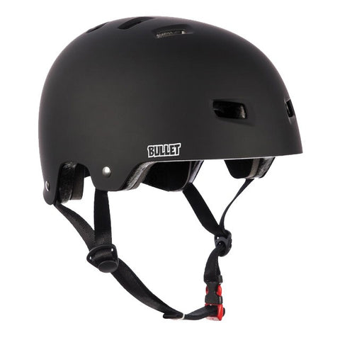 BULLET - Casque de Protection Adulte /Noir Mat
