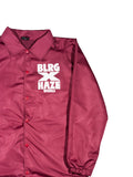BLRG X HAZE - Jacket /Noir ou Bordeaux