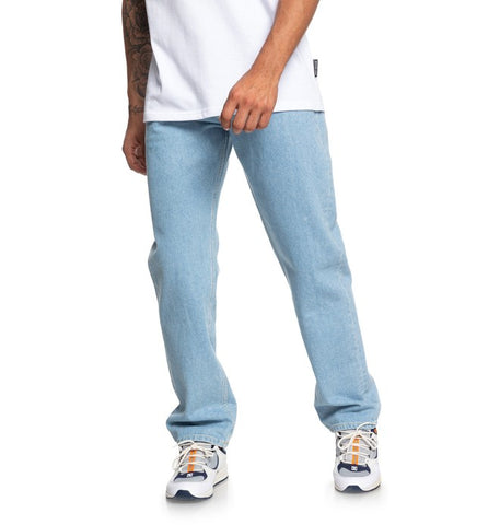 DC Shoes - Worker Jean - Relaxed Fit /Vintage Bleach
