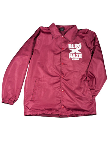 BLRG X HAZE - Jacket /Bordeaux