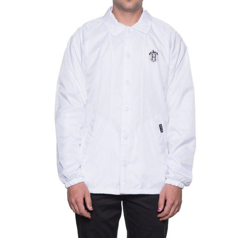 THRASHER X HUF - Coach Jacket /Blanc