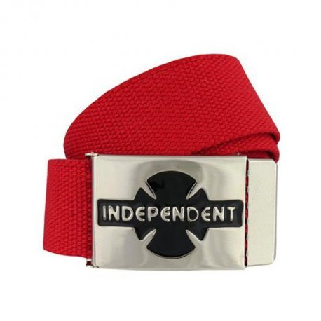 INDEPENDENT - Clipped Belt - Ceinture /Cardinal Red