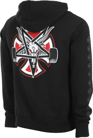 THRASHER X INDEPENDENT - Pentagram Cross Hoodie /Black