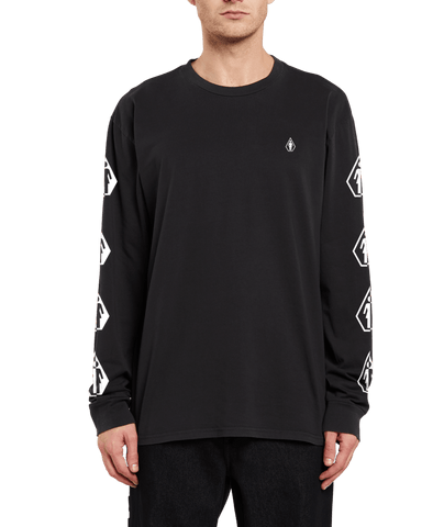 VOLCOM X GIRL - Deadly Stone - LS Tee /Black