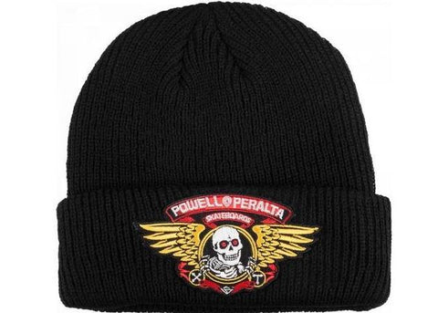 POWELL PERALTA - Winged Ripper - Bonnet /Noir