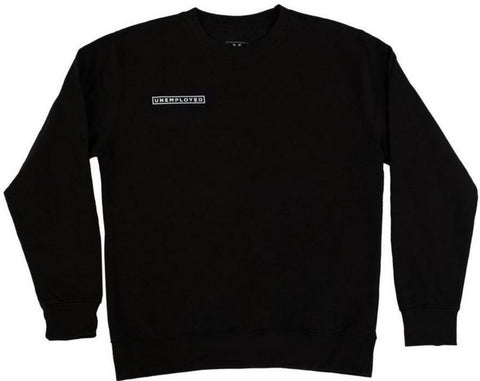UNEMPLOYED - Logo Team Crewneck - Sweat /Black