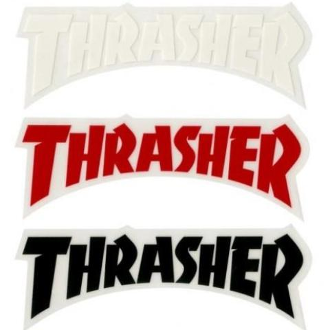 THRASHER - Die Cut Logo - Sticker
