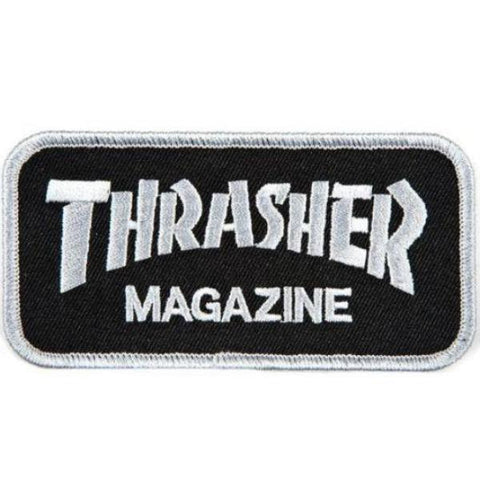 THRASHER - Logo Patch /Noir