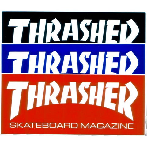 THRASHER - Skate Mag - Sticker - Large