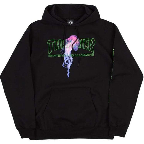 THRASHER - Atlantic Drift - Hoodie /Black