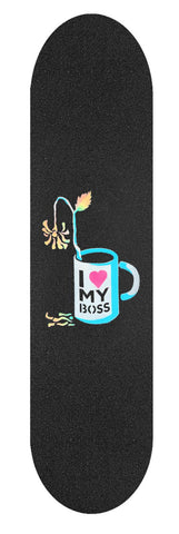 UNEMPLOYED - I Love My Boss - Blue - Grip