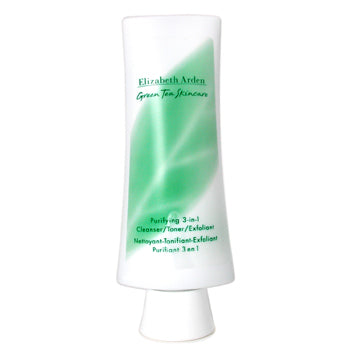 Elizabeth Arden Green Tea Skincare Purifying 3 In 1 ( Cleanser/ Toner/ Exfoliant ) 4.2 oz, Elizabeth Arden Cleanser