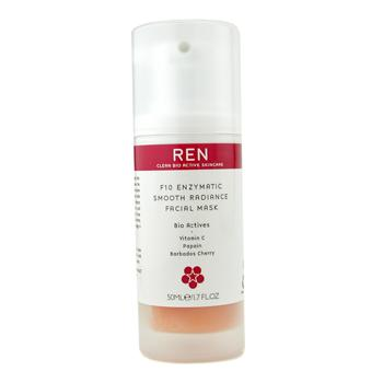 Ren F10 Enzymatic Smooth Radiance Facial Mask (all Skin Types) 1.7 oz, Ren Cleanser