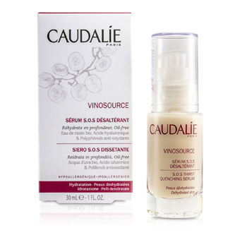 Caudalie Vinosource S.o.s Thirst-quenching Serum 1 oz, Caudalie Night Care