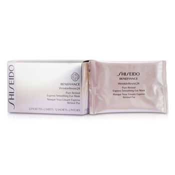 Shiseido Benefiance Wrinkleresist24 Pure Retinol Express Smoothing Eye Mask 12pairs, Shiseido Other