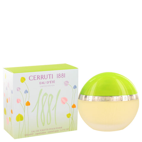 Eau D`ete Toilette Spray 3.3 oz, 1881 Summer by Nino Cerruti