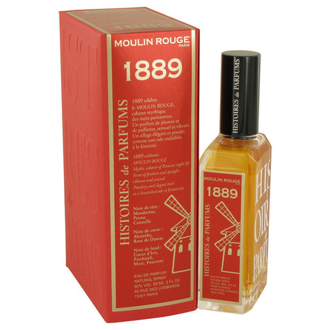 Eau De Parfum Spray 2 oz, 1889 Moulin Rouge by Histoires De Parfums