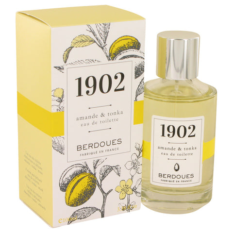 Eau De Toilette Spray 3.38 oz, 1902 Amande & Tonka by Berdoues