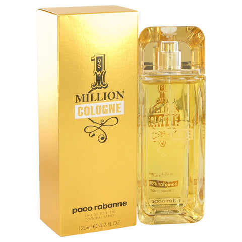 Eau De Toilette Spray 4.2 oz, 1 Million Cologne by Paco Rabanne