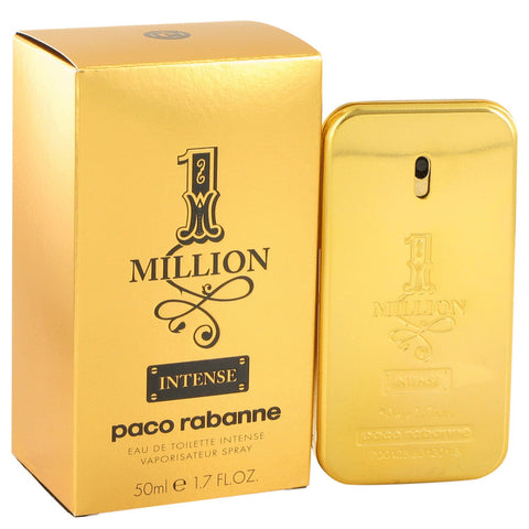 Eau De Toilette Spray 1.7 oz, 1 Million Intense by Paco Rabanne