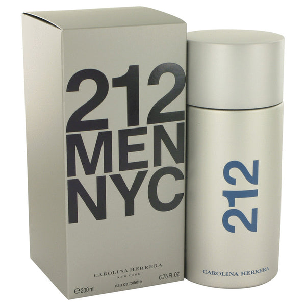 Eau De Toilette Spray 6.8 oz, 212 by Carolina Herrera