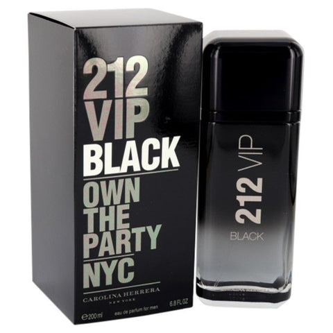 Eau De Parfum Spray 6.8 oz, 212 VIP Black by Carolina Herrera