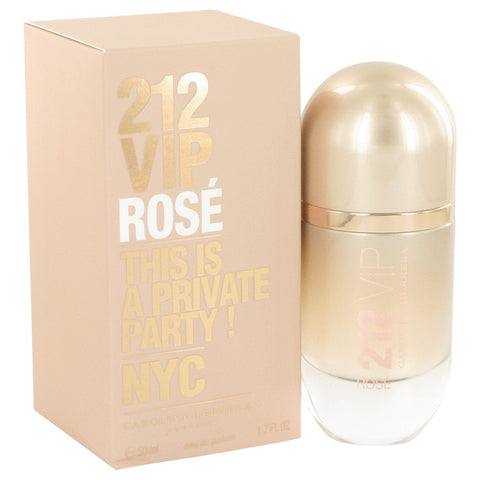 Eau De Parfum Spray 1.7 oz, 212 VIP Rose by Carolina Herrera
