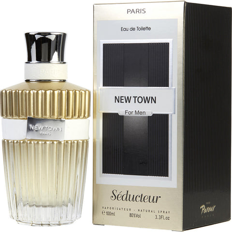 Lomani Newtown Seducteur by Lomani for Men. Eau De Toilette Spray 3.3 oz