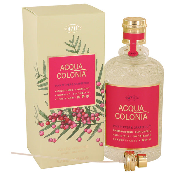 Eau De Cologne Spray 5.7 oz, 4711 Acqua Colonia Pink Pepper & Grapefruit by Maurer & Wirtz