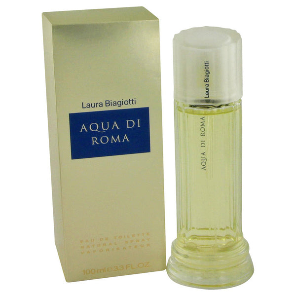Eau De Toilette Spray 3.4 oz, Aqua Di Roma by Laura Biagiotti