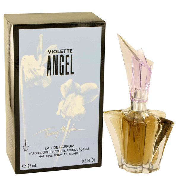 Eau De Parfum Spray Refillable .8 oz, Angel Violet by Thierry Mugler