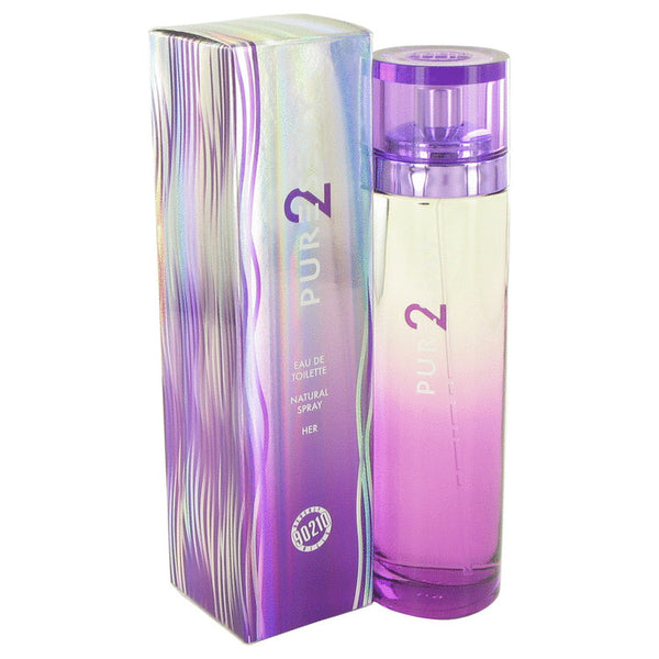 Eau De Toilette Spray 3.4 oz, 90210 Pure Sexy 2 by Torand