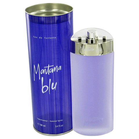 Eau De Toilette Spray 3.4 oz, MONTANA BLU by Montana