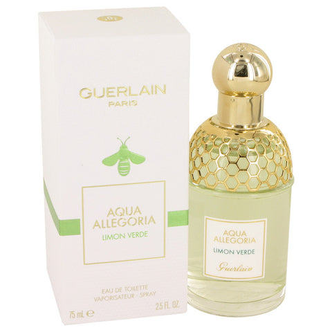Eau De Toilette Spray 2.5 oz, AQUA ALLEGORIA Limon Verde by Guerlain