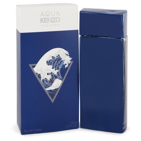 Aqua Kenzo by Kenzo for Men. Eau De Toilette Spray 3.3 oz