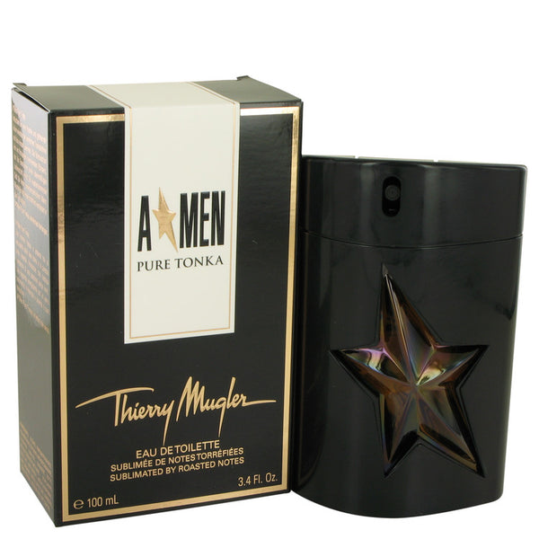 Eau De Toilette Spray 3.4 oz, Angel Pure Tonka by Thierry Mugler