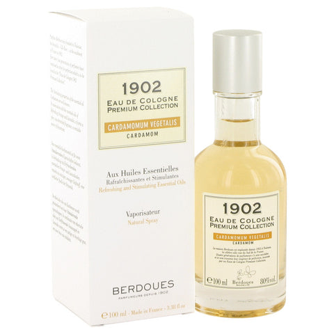 Eau De Cologne Spray 3.3 oz, 1902 Cardamom by Berdoues