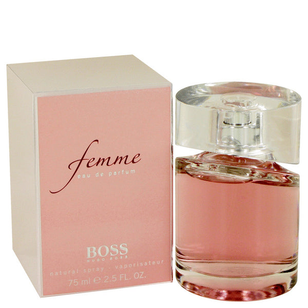 Eau De Parfum Spray 2.5 oz, Boss Femme by Hugo Boss